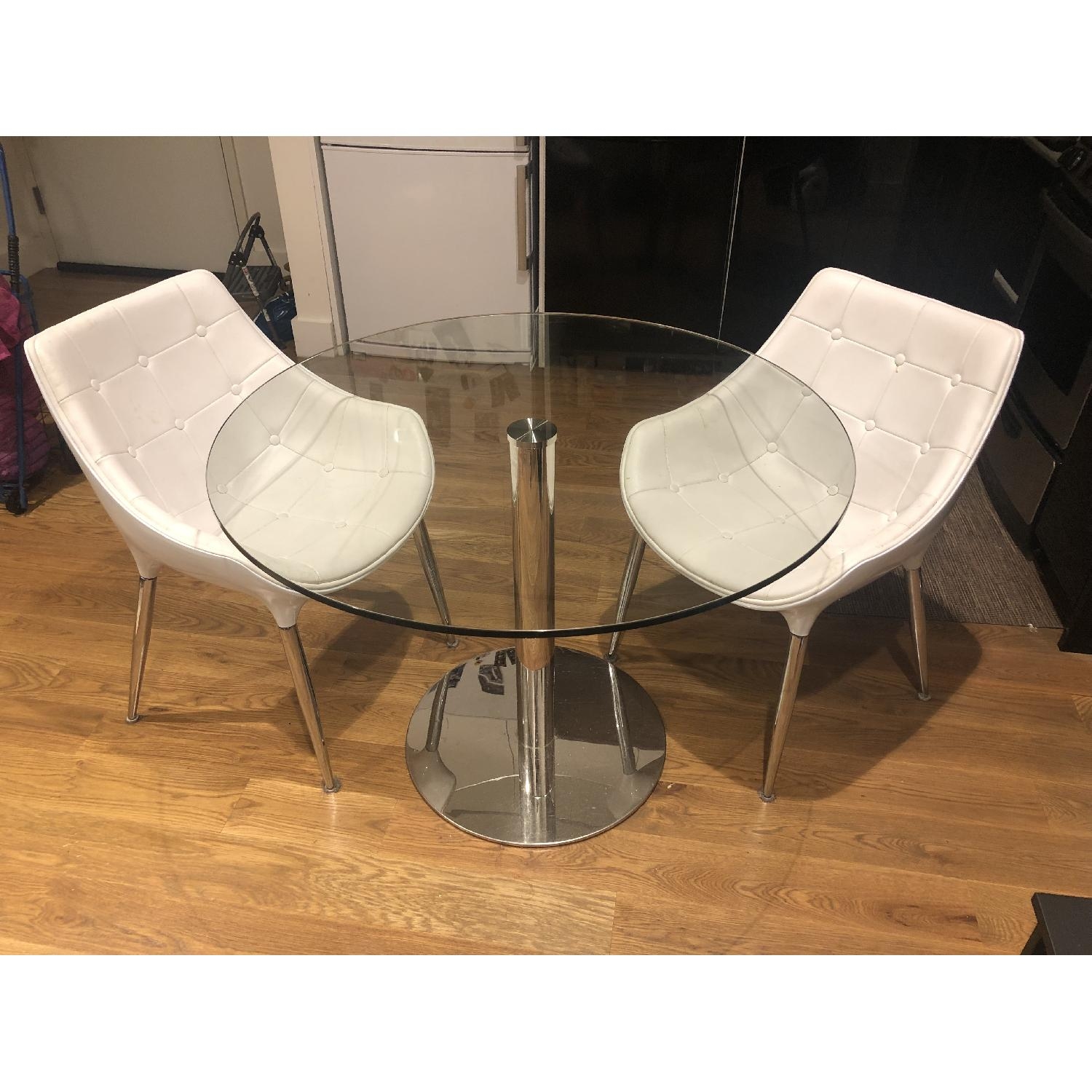Modani Eve Dining Table w/ 2 Chairs - image-2
