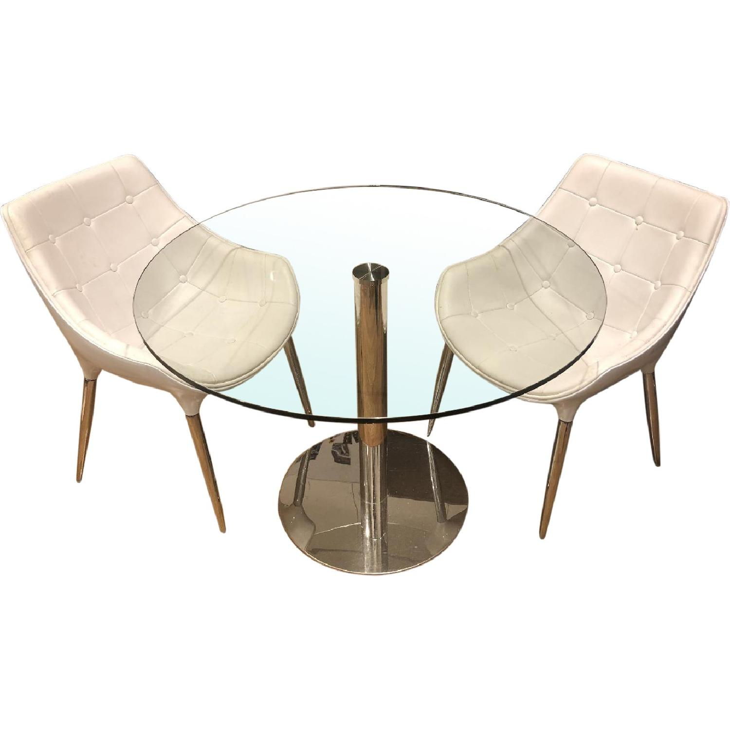 Modani Eve Dining Table w/ 2 Chairs - image-0
