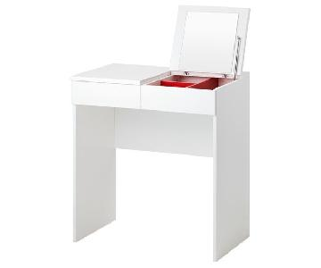 Ikea Brimnes Dressing Table w/ Mirror