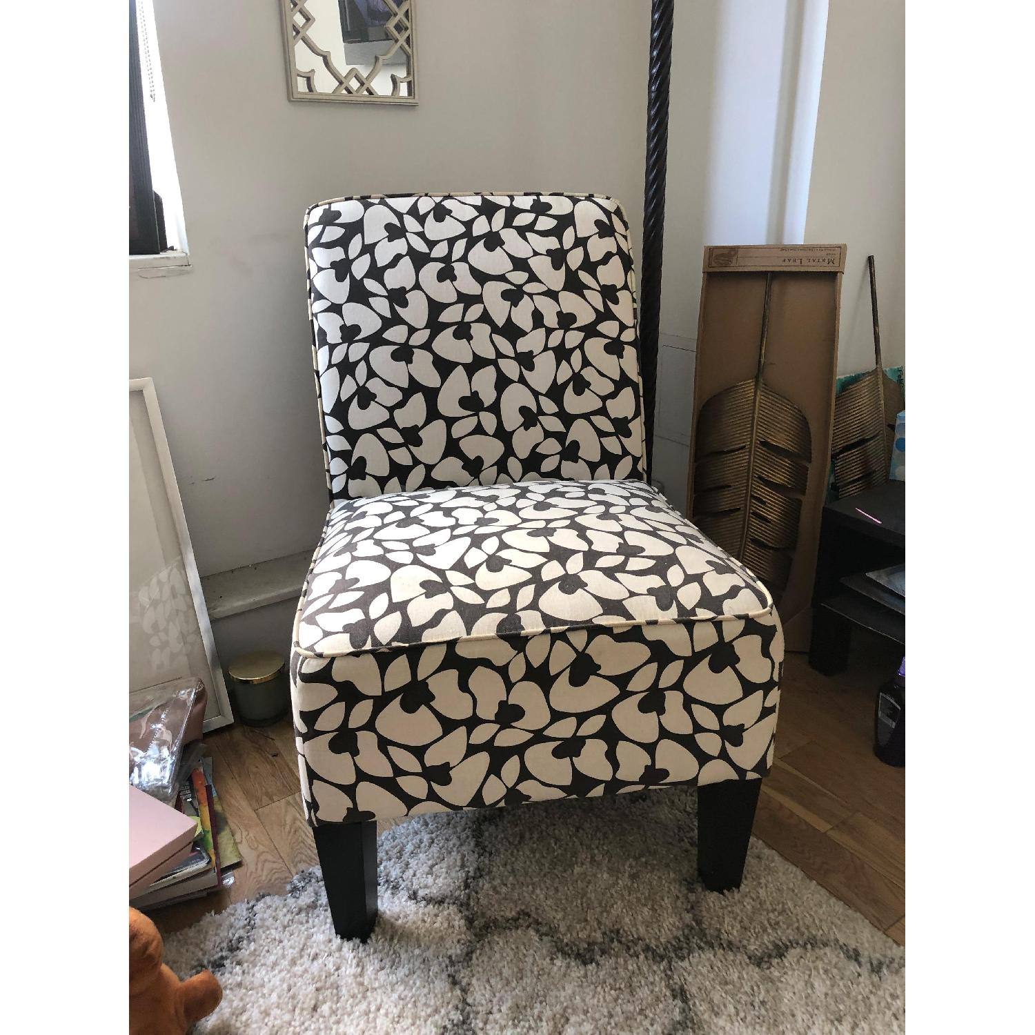 Jane Accent Chair in Brown & Cream - image-3