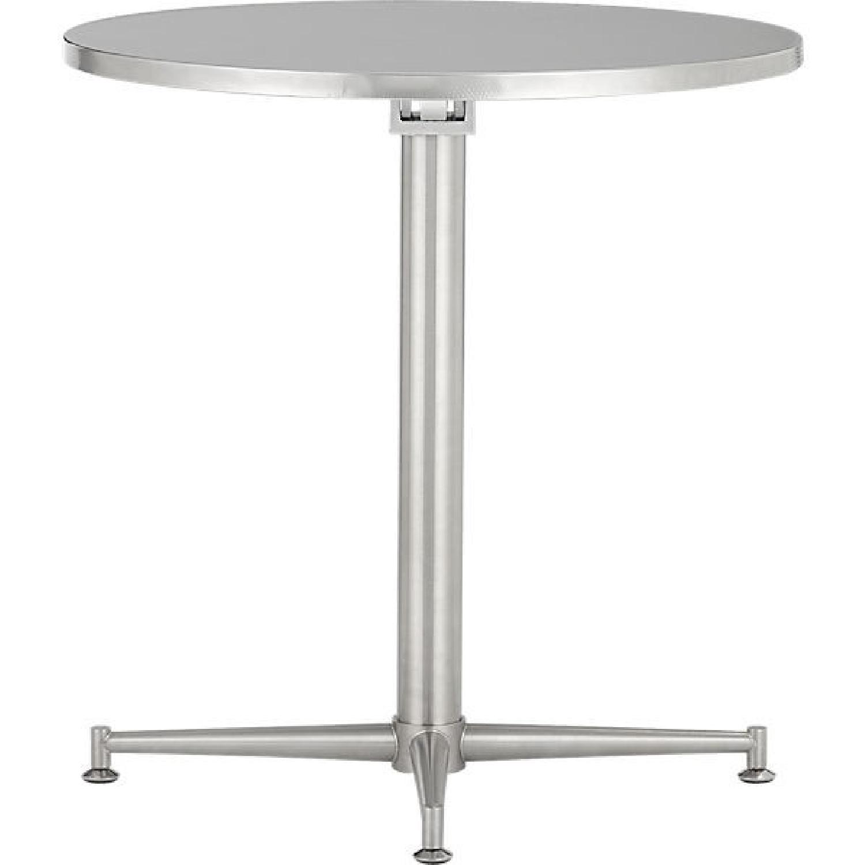 CB2 90 Degrees Bistro Table - image-0