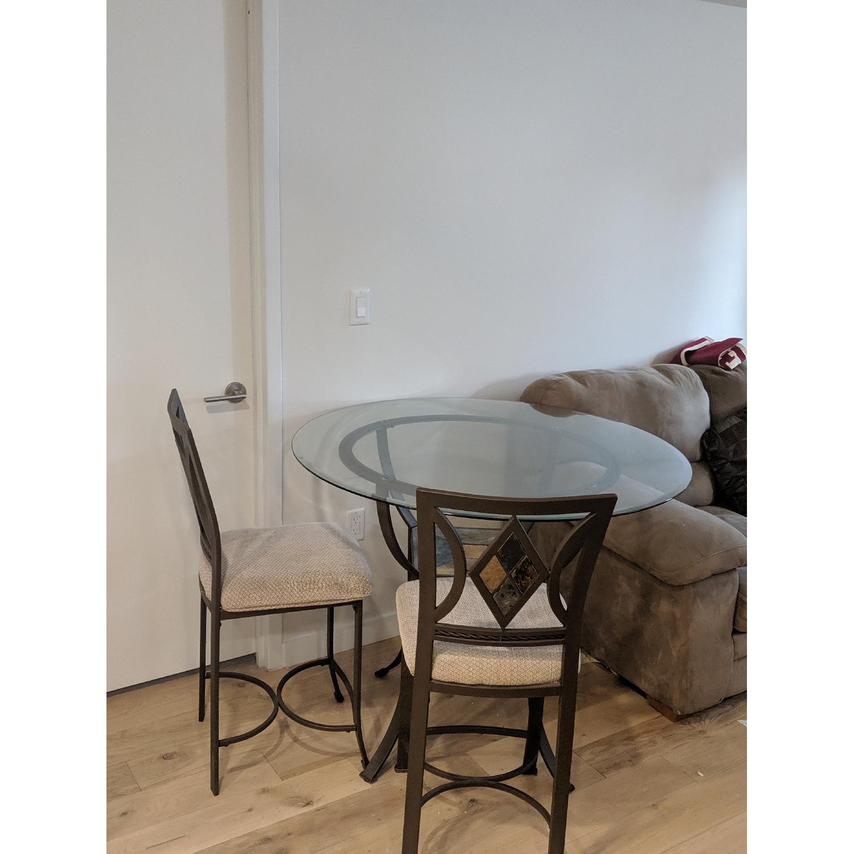 Art Van Counter Height 5-Piece Dining Set - image-1