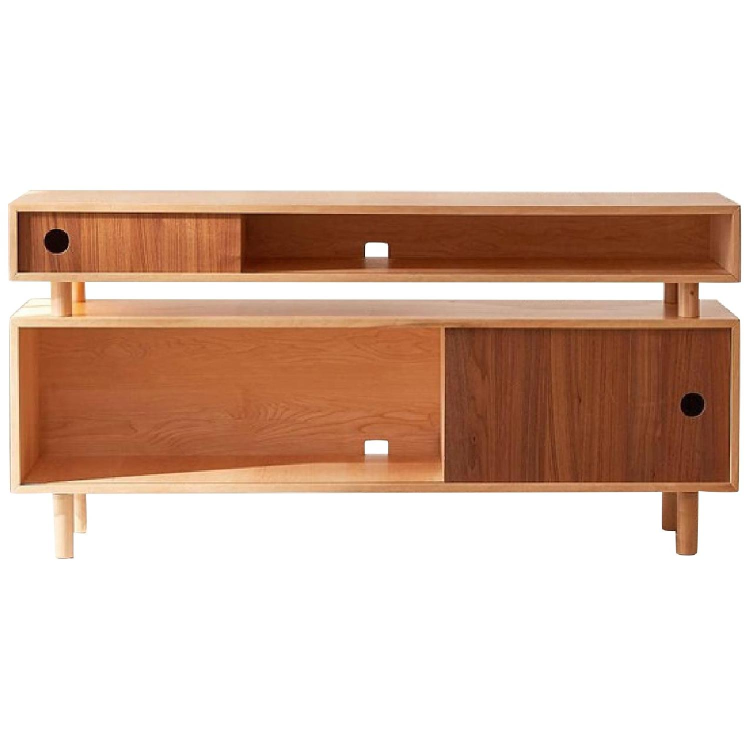 Urban Outfitters Hamilton Wood Media Console - image-0