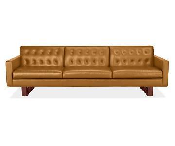 Room & Board Wells Leather Sofa