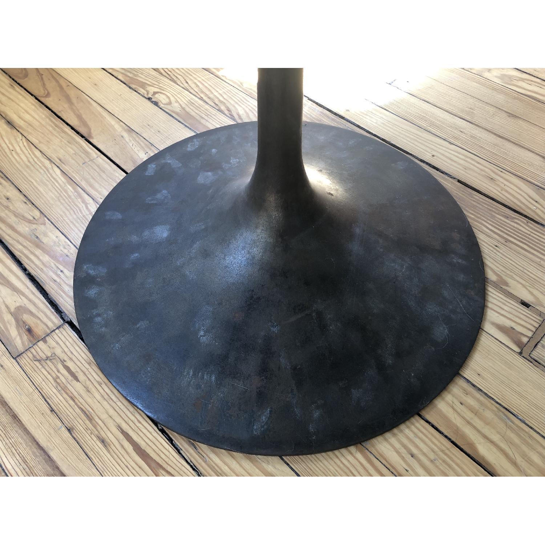 Knoll Walnut & Bronze Tulip Table - image-3