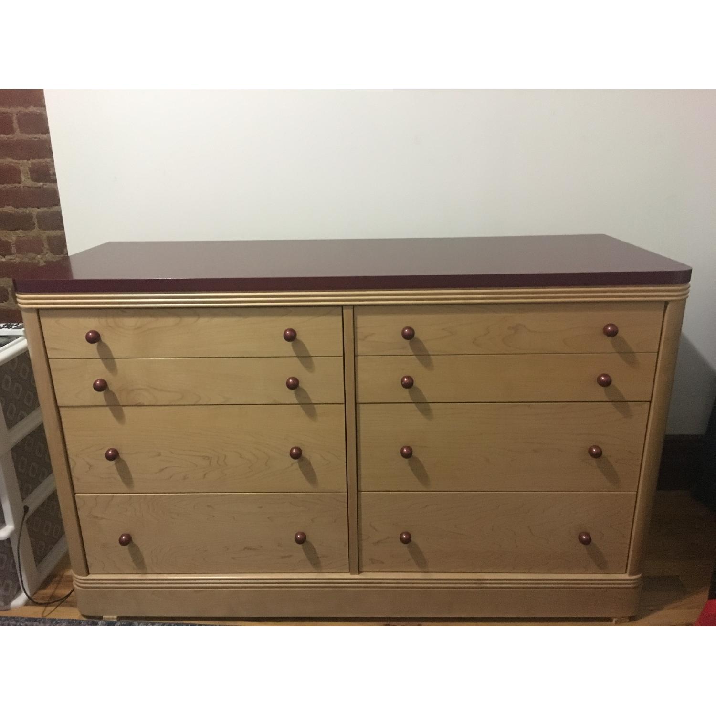 Ragazzi Italian Wood 6 Drawer Dresser - image-1
