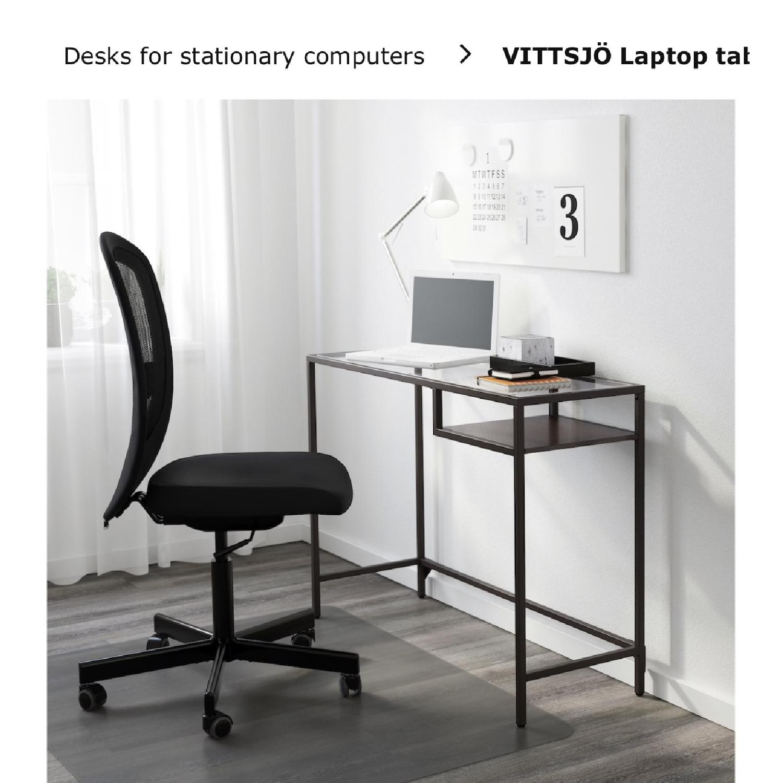 Ikea Laptop Desk & Chair - image-1