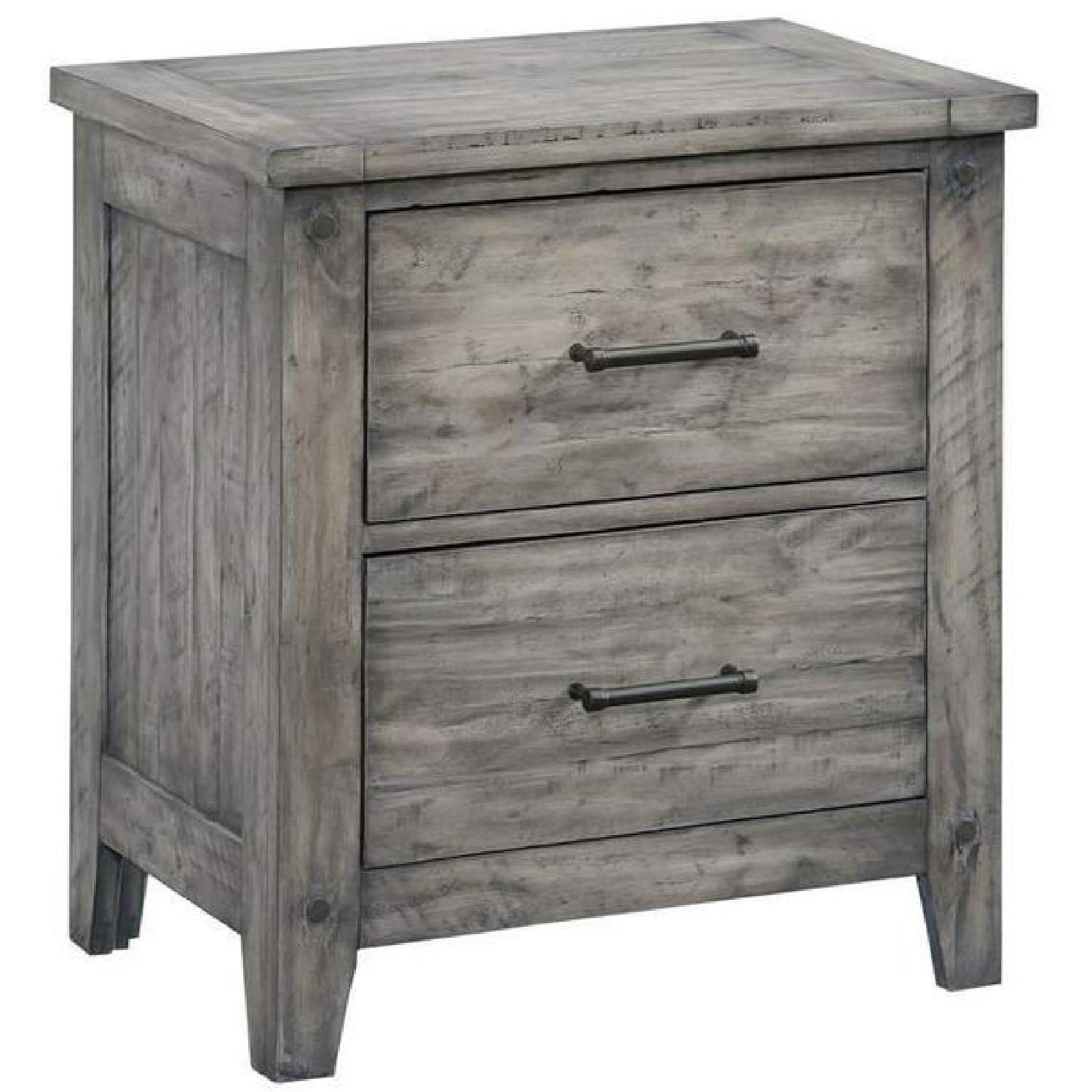Loon Peak Burleigh 2 Drawer Nightstand - image-0
