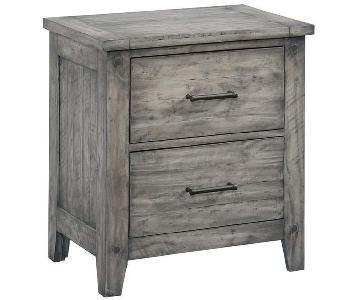Loon Peak Burleigh 2 Drawer Nightstand