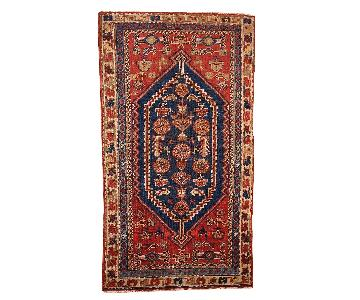 Antique Handmade Persian Shiraz Rug