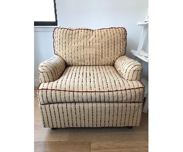 Cornell Club Armchair