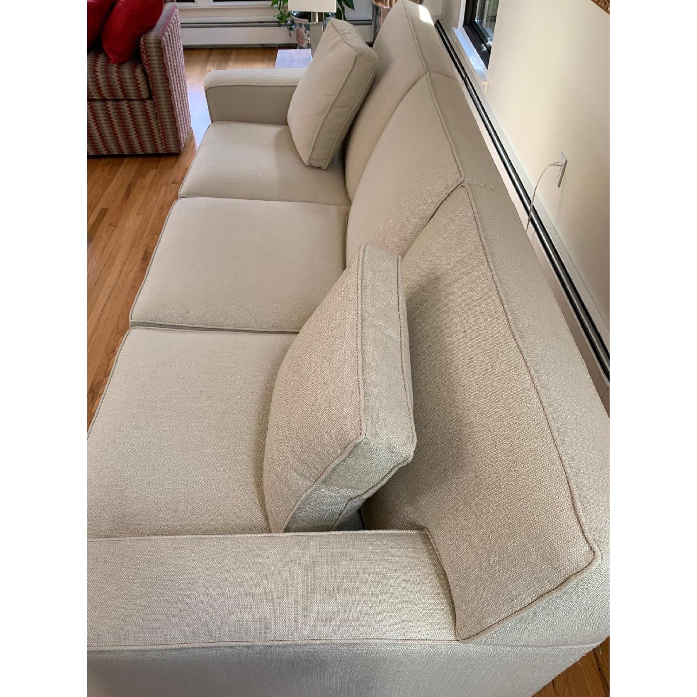 Ethan Allen Kendall Linen Sofa - image-2