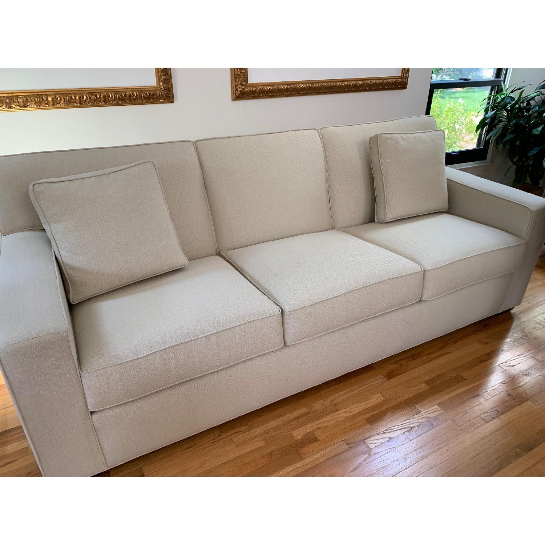 Ethan Allen Kendall Linen Sofa - image-3