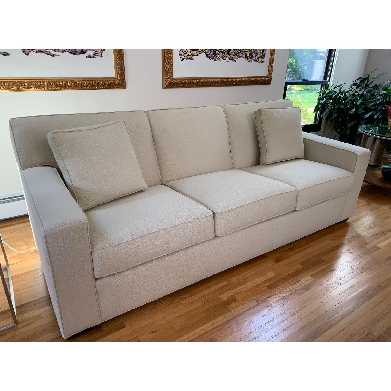 Ethan Allen Kendall Linen Sofa - image-4