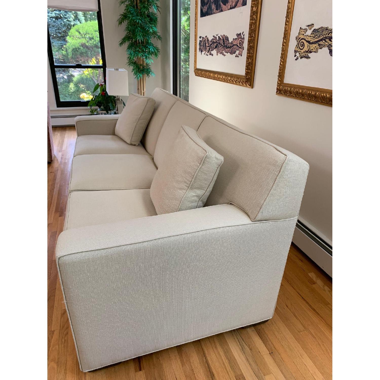 Ethan Allen Kendall Linen Sofa - image-5