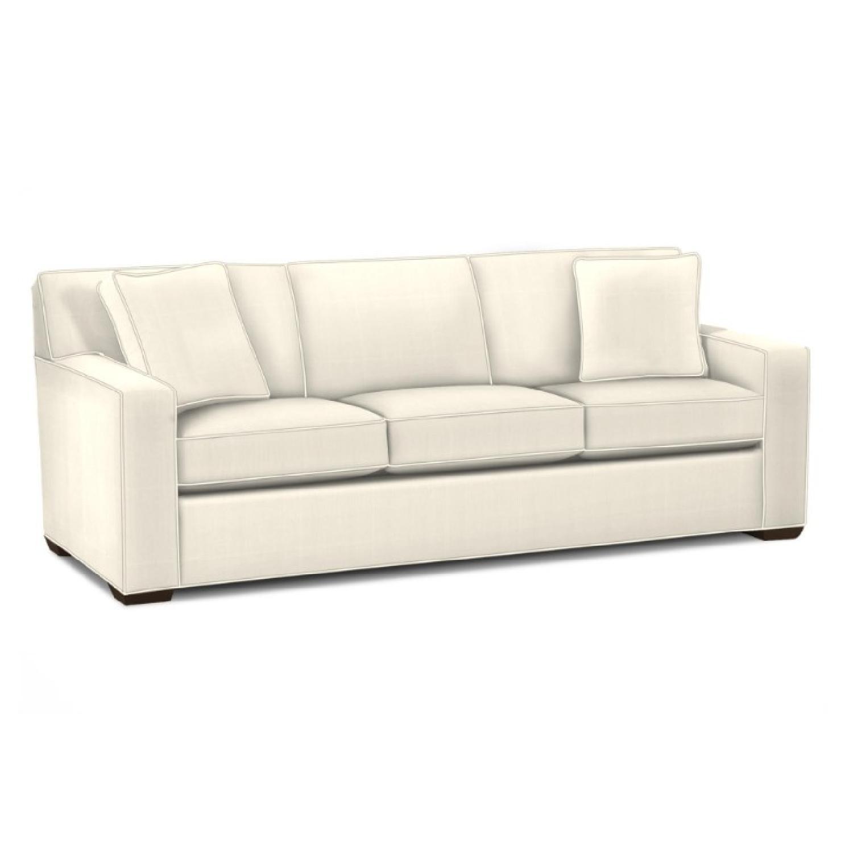 Ethan Allen Kendall Linen Sofa - image-0