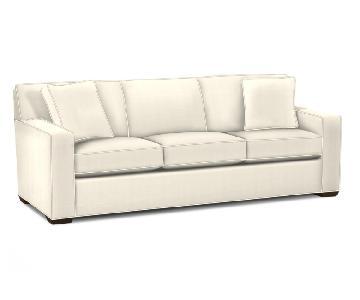 Ethan Allen Kendall Linen Sofa