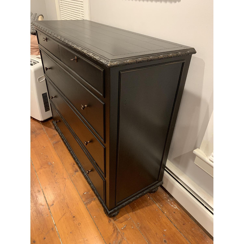 Restoration Hardware French Empire 5 Drawer Dresser - image-3