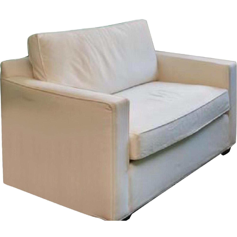Crate & Barrel Karnes Twin Sleeper Sofa - image-0