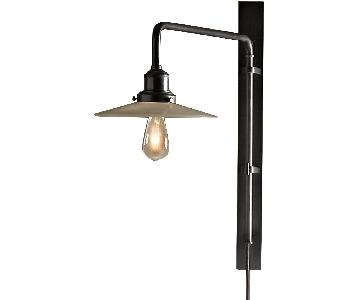 Restoration Hardware 1900 Train Station Swing-Arm Sconce