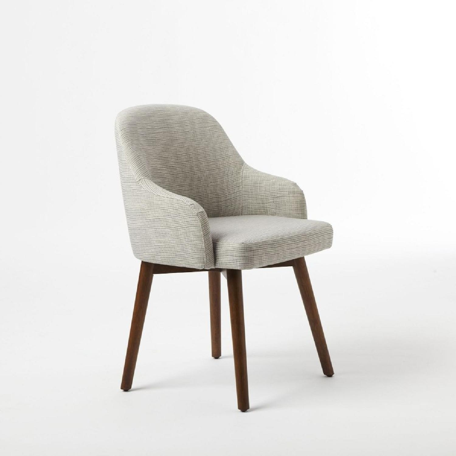 West Elm Chairs: West Elm Saddle Dining Chairs