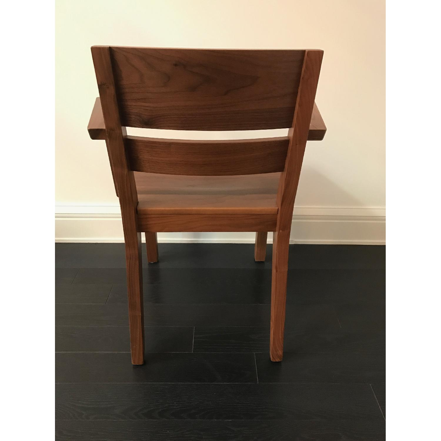 Room & Board Afton Walnut Dining Chair w/ Arms - image-6