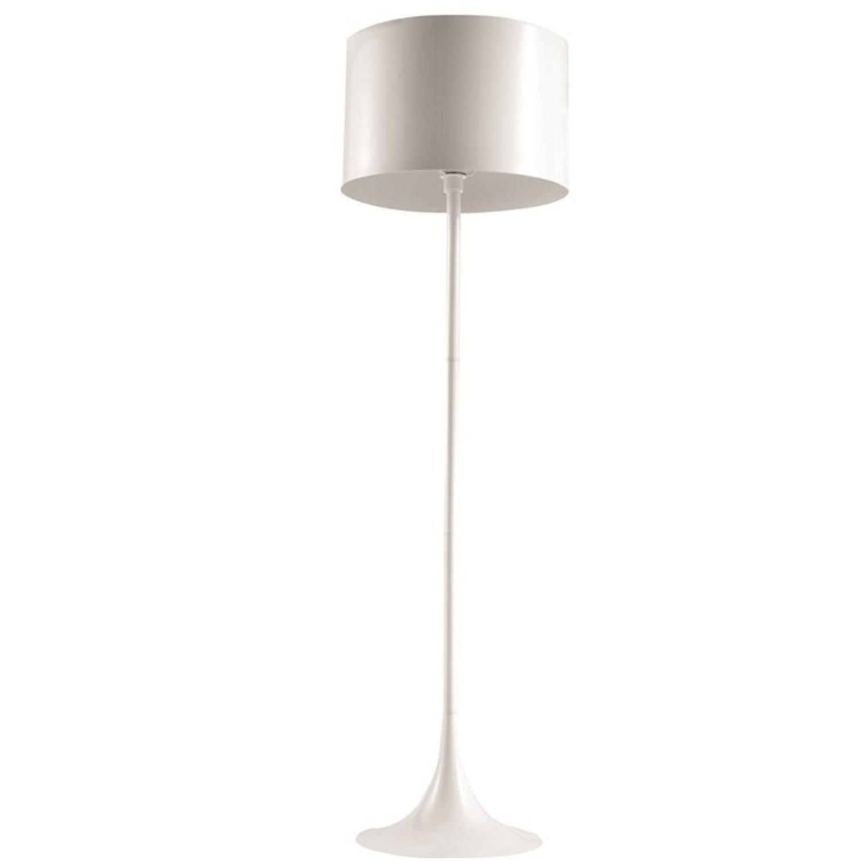 Black Tulip Style Modern Floor Lamp w/ Stainless Steel Lamp -1