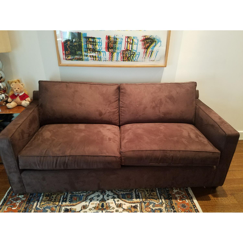 Crate & Barrel Davis Queen Pull Out Sofa-0