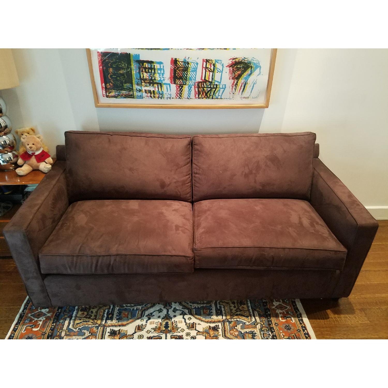 Crate & Barrel Davis Queen Pull Out Sofa-1