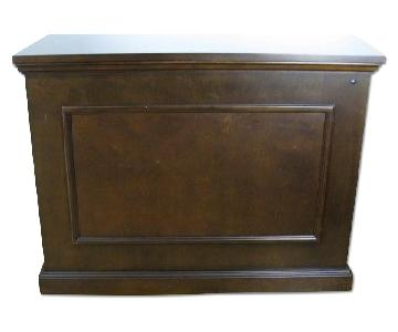 Elevated TV Lift Cabinet