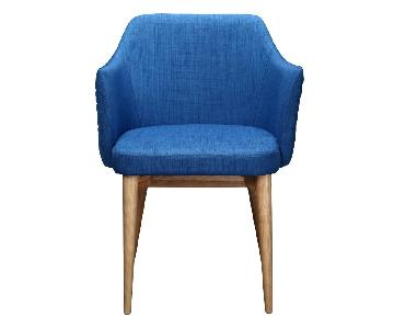 Moe's Home Collection Glen Armchair in Blue