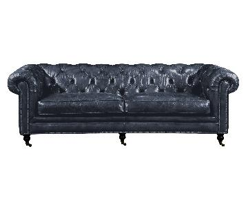 Moe's Home Collection Birmingham Sofa in Black