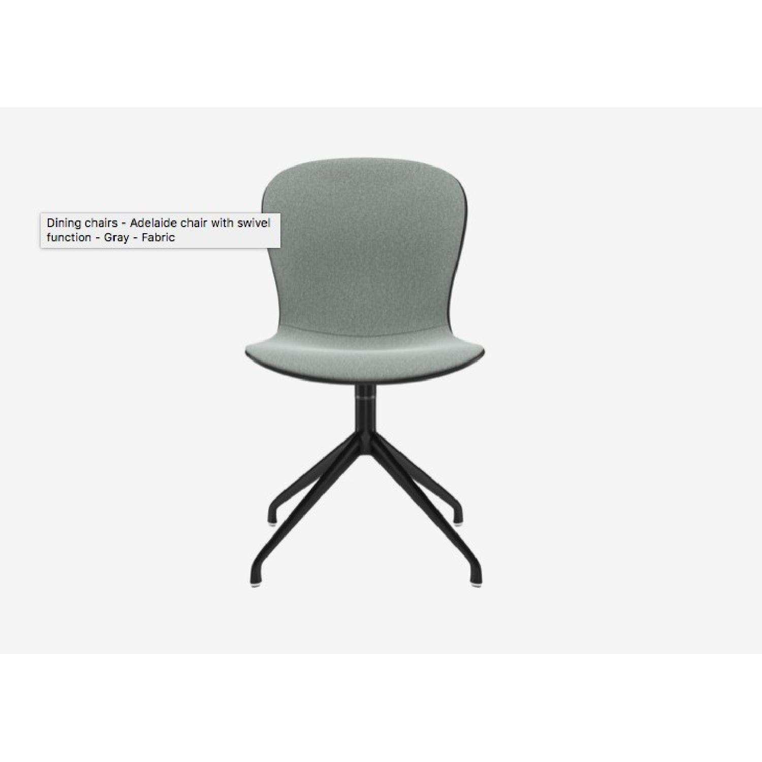 BoConcept Adelaide Office/Dining Chair w/ Swivel Motion - image-1