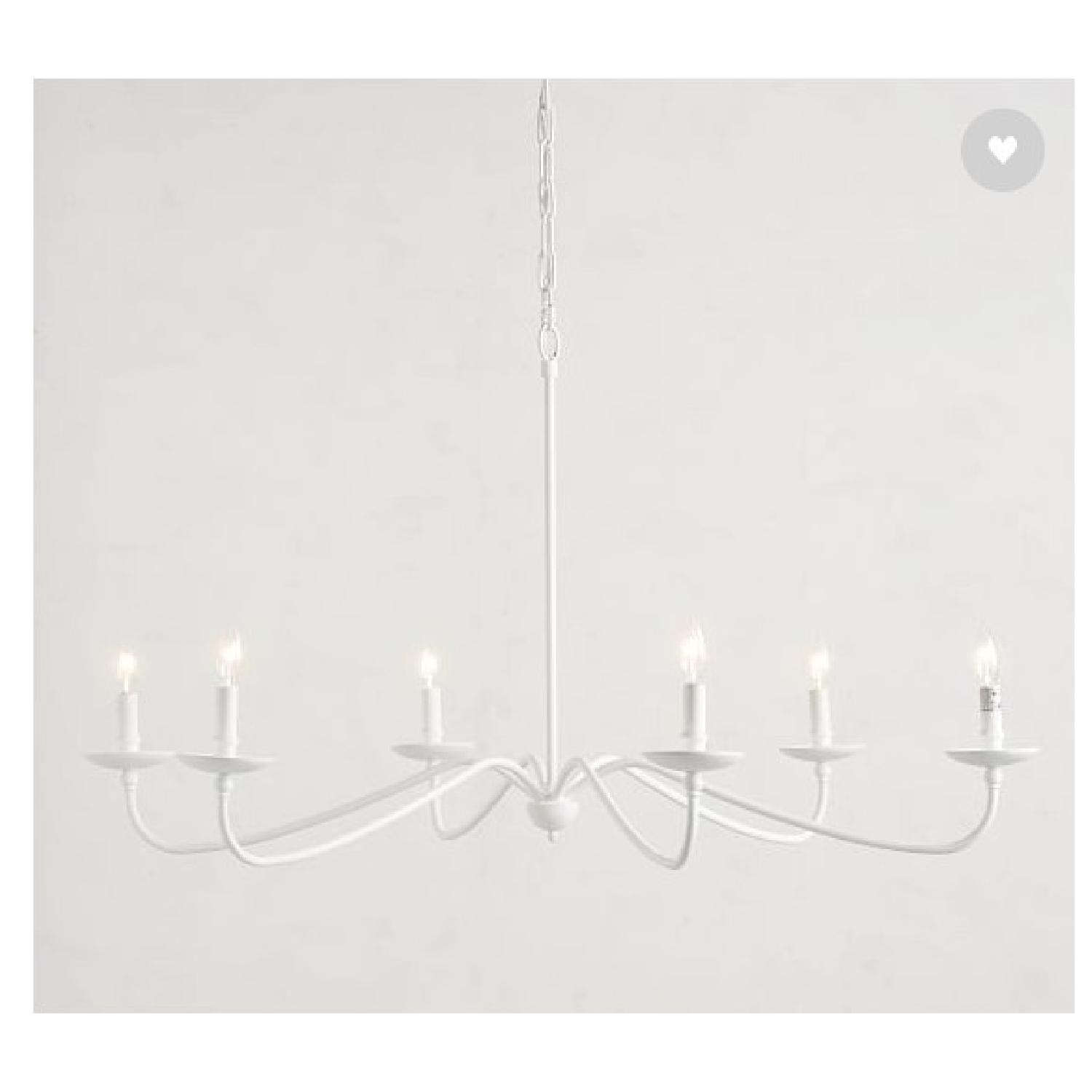 Pottery Barn Lucca Chandelier - image-2