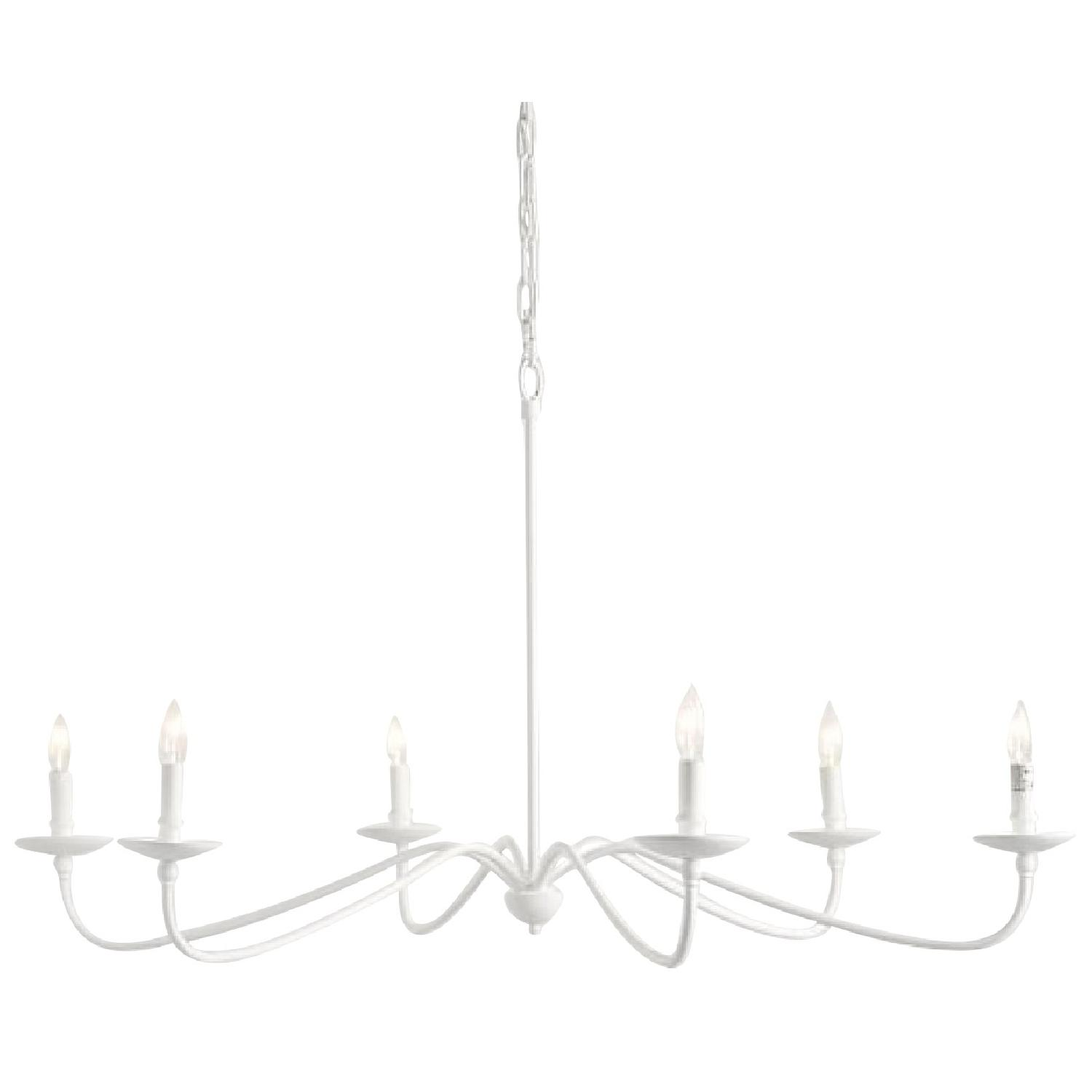 Pottery Barn Lucca Chandelier - image-0
