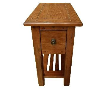 Raymour & Flanigan Narrow Nightstand