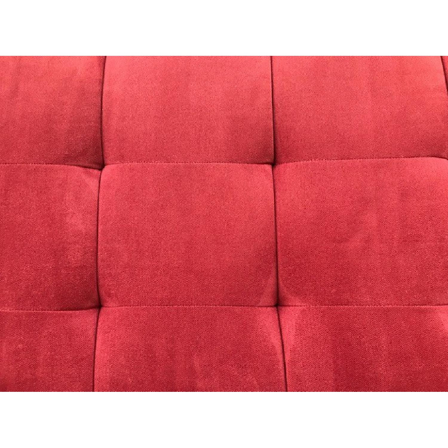 Macy's Max Home Amalfi Red Microfiber Chaise/Daybed - image-7