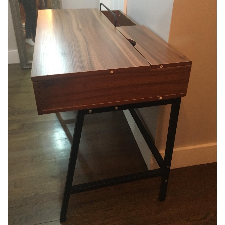 Kinbor Computer/Writing Desk w/ Two Drawers - image-3