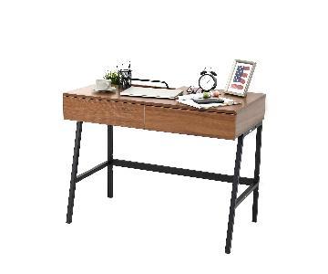 Kinbor Computer/Writing Desk w/ Two Drawers