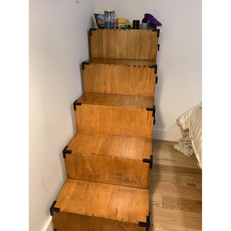 Wooden Step Dresser - image-2