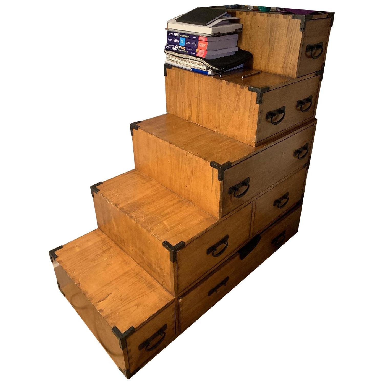 Wooden Step Dresser - image-0