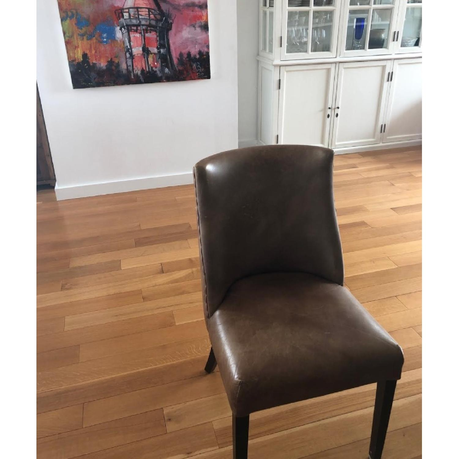 Restoration Hardware Barrel Back Nailhead Dining Chair - image-3