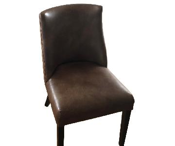 Restoration Hardware Barrel Back Nailhead Dining Chair