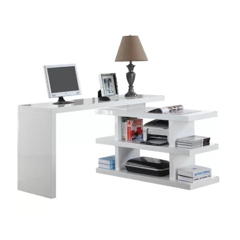 AllModern L Shape Credenza Desk - image-0