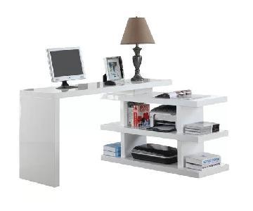 AllModern L Shape Credenza Desk