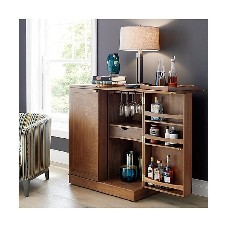 Crate & Barrel Maxine Bar Cart - image-1
