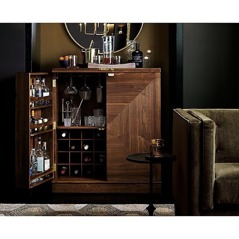 Crate & Barrel Maxine Bar Cart - image-8
