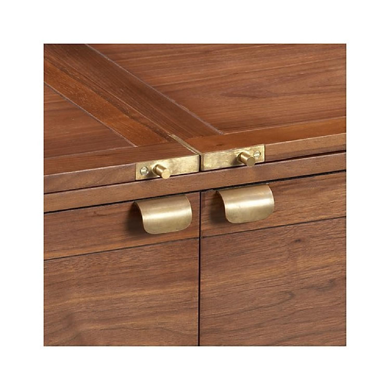 Crate & Barrel Maxine Bar Cart - image-9
