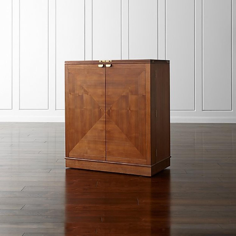 Crate & Barrel Maxine Bar Cart - image-10