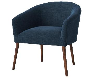 Target Barrel Chair in Roma Navy